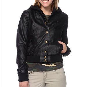 Obey leather jacket!